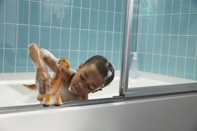 Ouch Free Shower Track ComforTrack® Is A Cushioned Shower Track That Makes  It Easier To Lean, Clean And Step In Or Out Of The Bathtub. EXPLORE