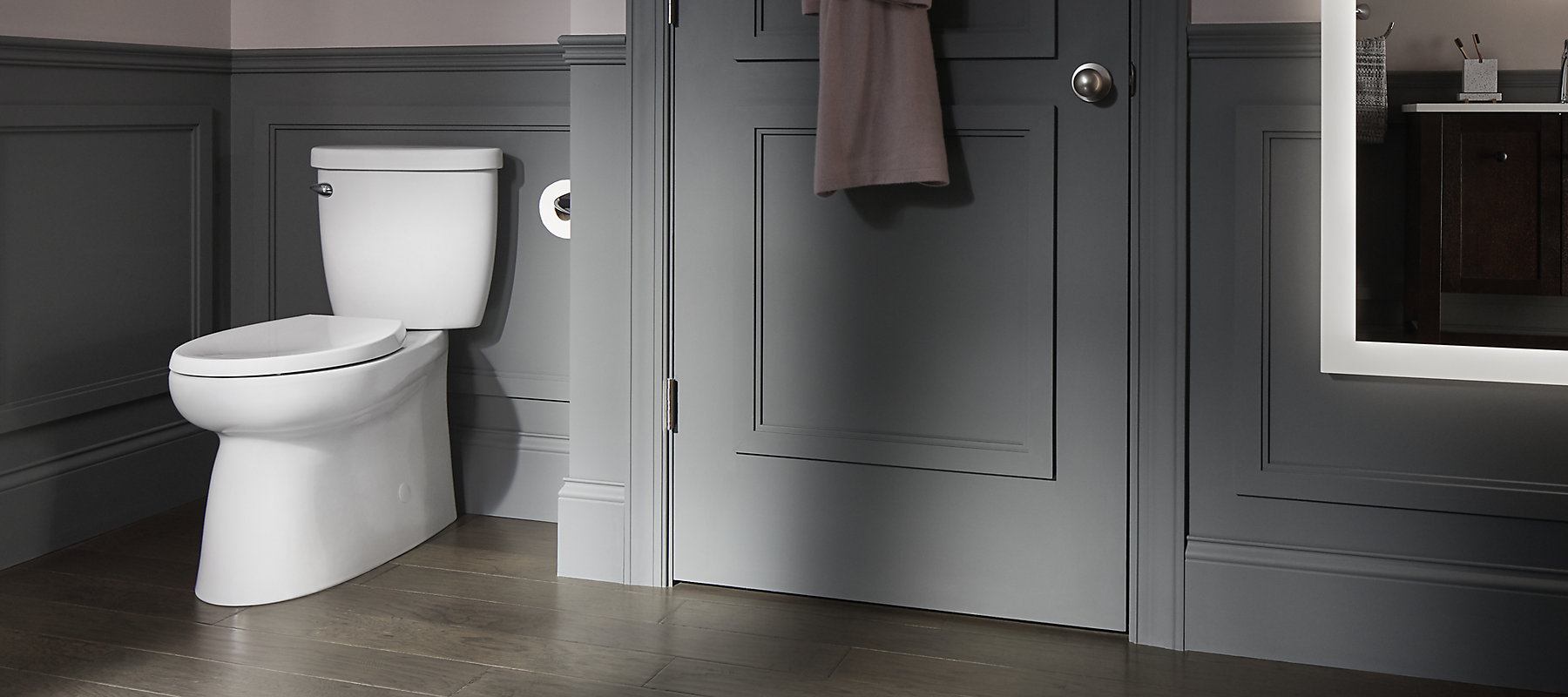 The Brella Toilet Offers An Easy To Clean Skirted Base And A Sleek Aesthetic