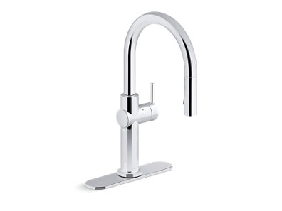 Crue™ Kitchen sink faucet with KOHLER® Konnect™ and voice-activated technology