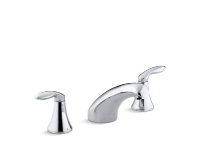 Coralais® Rim-mount bath faucet trim with 5-1/2