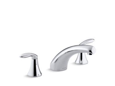Coralais® Deck-mount bath faucet trim with 8