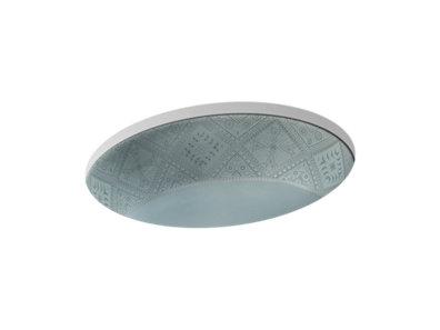 Caravan® Nepal Caxton® Oval Undermount bathroom sink