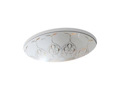 Caravan® Persia Caxton® Oval Undermount bathroom sink