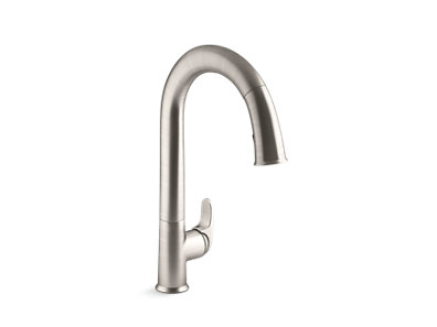 Sensate® Kitchen faucet with KOHLER® Konnect™ and voice-activated technology