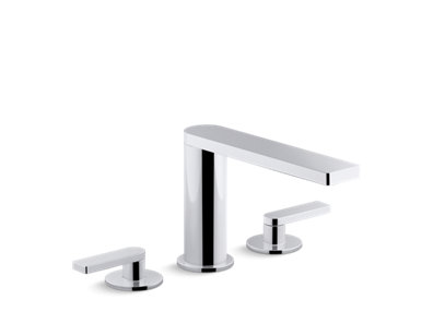 Composed® deck-mount bath faucet with lever handles