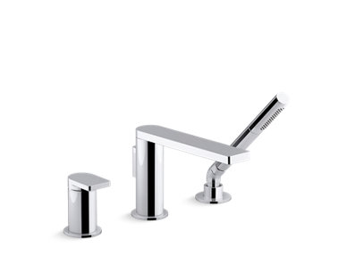 Composed® single-handle deck-mount bath faucet with handshower