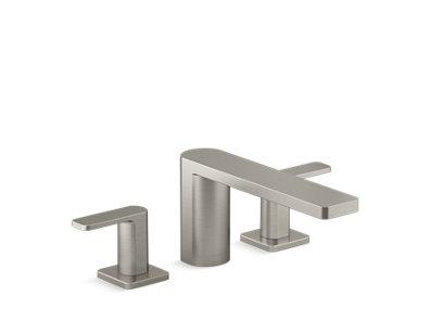 Parallel™ Two-handle deck-mount bath faucet