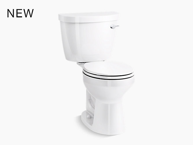 Cimarron Comfort Height Two Piece Round Front Toilet K 31641 Ra Kohler Kohler