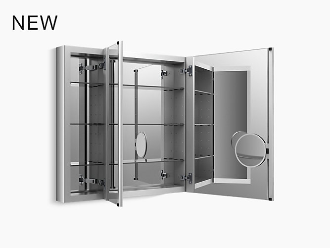 K 99011 Scf Verdera 174 Aluminum Medicine Cabinet With