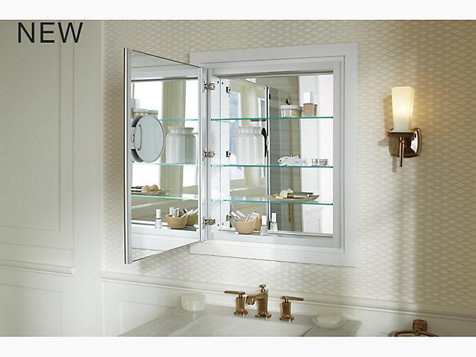 Verdera® Aluminum Medicine Cabinet With