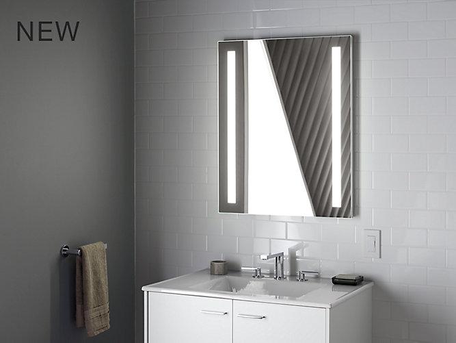 "Verdera® Lighted Mirror, 24"" W X 33"" H"