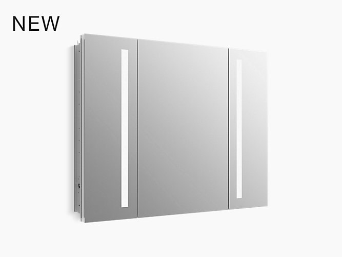 "Verdera® Lighted Medicine Cabinet, 40"" W X 30"