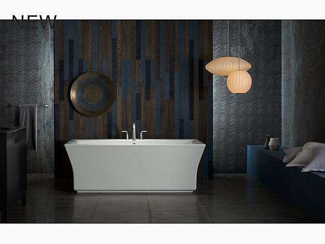K 24011 Stargaze 5 Ft Freestanding Bath Fluted Shroud