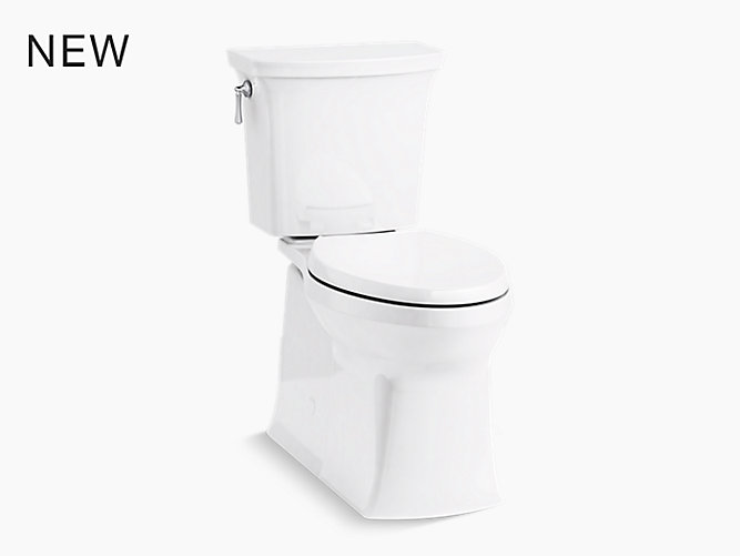 K-3814-0 | Corbelle Skirted Two-Piece Toilet, 1.28 GPF