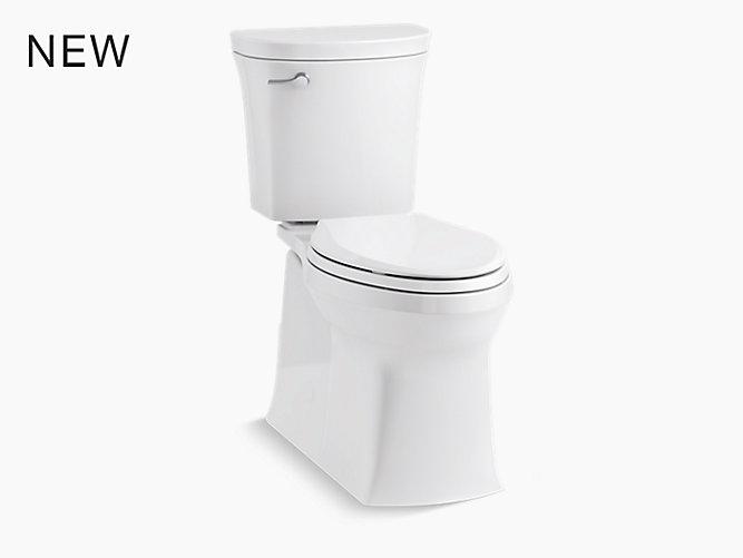 K-45927 | Valiant Complete Solution Toilet, 1.28 GPF | KOHLER