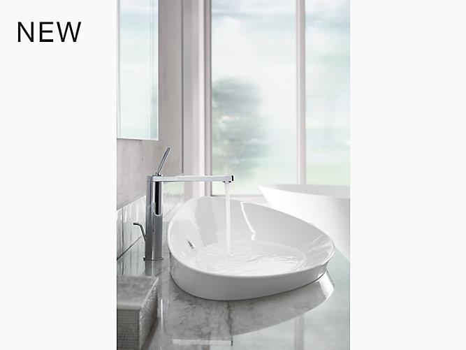 K-20705   Veil Trough Vessel Bathroom Sink   KOHLER