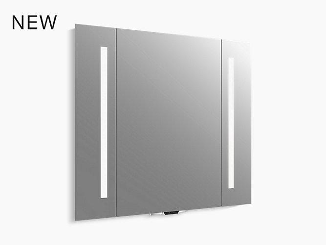 K 99573 Vlan Na Verdera Voice Lighted Mirror With Amazon Alexa Kohler