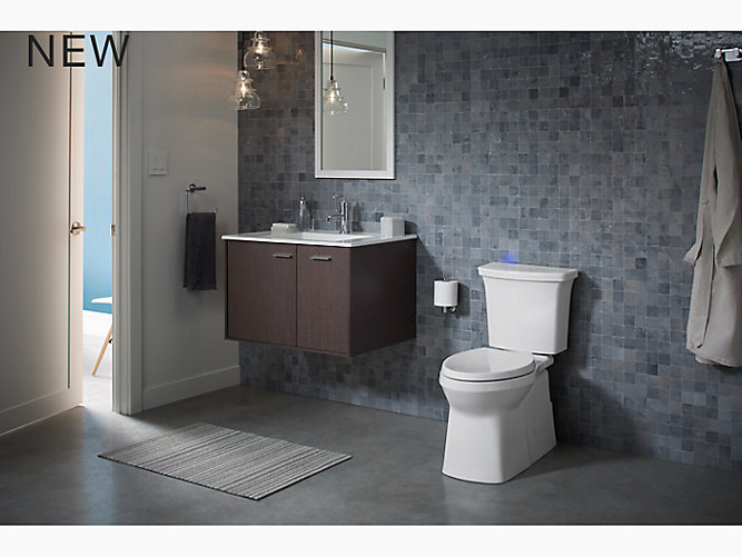 K 5709 Corbelle With Continuousclean Toilet Skirted