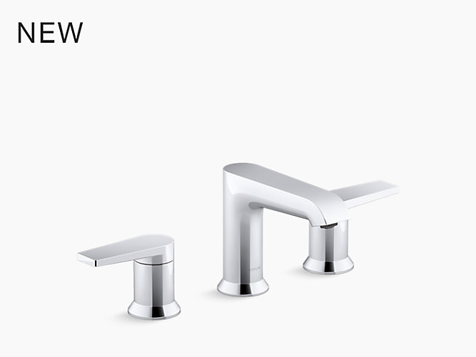 Hint™ Widespread bathroom sink faucet