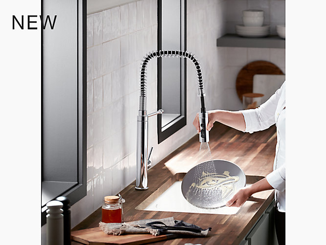 Purist® semiprofessional kitchen sink faucet