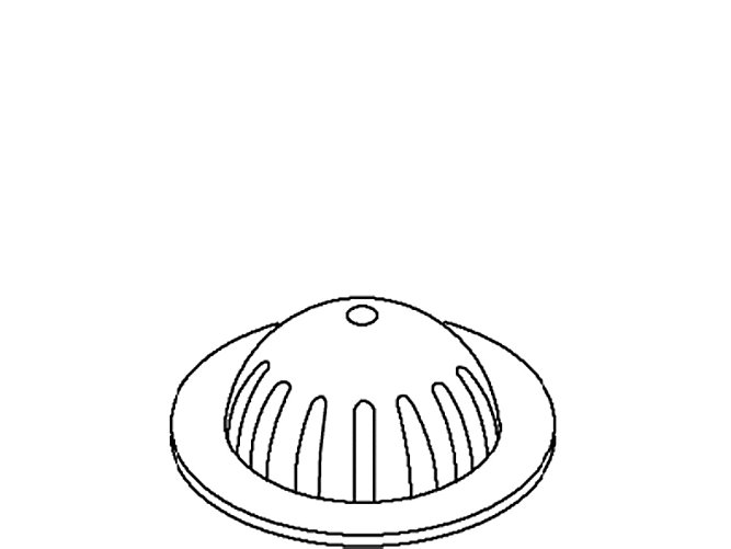 KOHLER K53147-S URINAL STRAINER PASSIVATED BUFFED MC366924