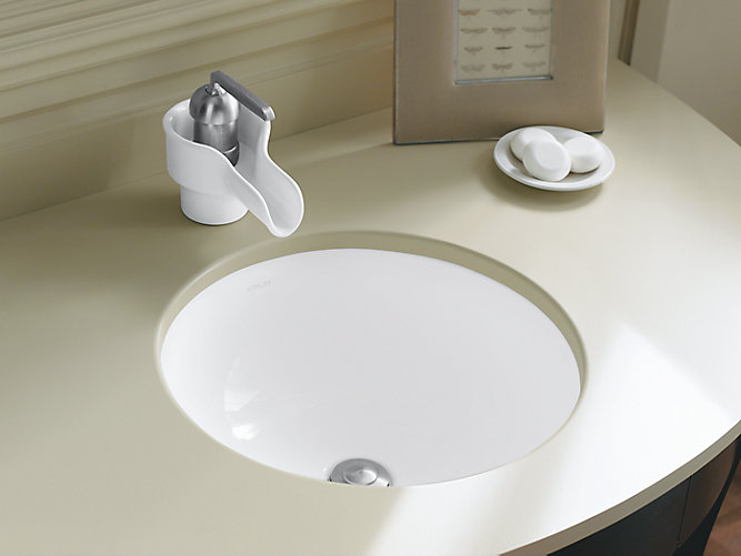 k 2349 camber round undermount sink kohler - Bathroom Undermount Sinks