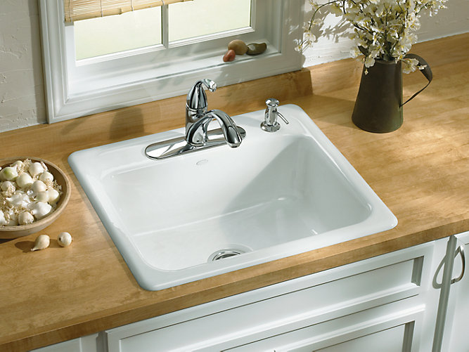 K 5964 4 Mayfield Top Mount Kitchen Sink With Four