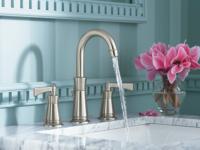 Archer Widespread Sink Faucet with 8-Inch Centers | K-11076-4 | KOHLER