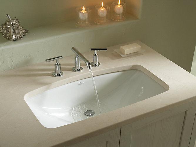 K 2885 8u Man S Lav Undermount Sink With 8 Inch Centers