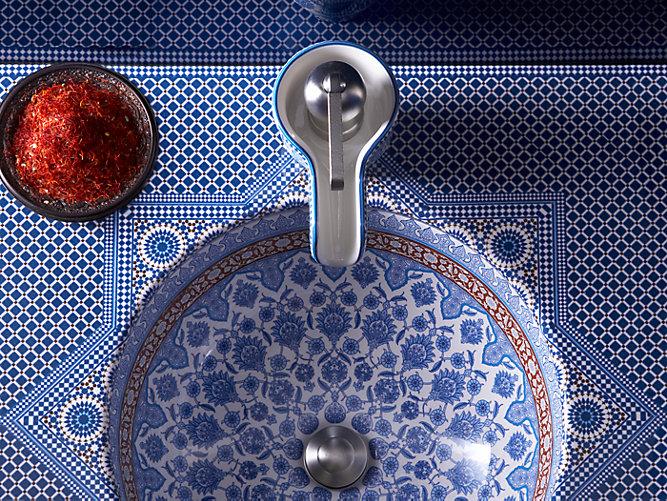 K 14031 Bu Marrakesh Design On Countertop With Single