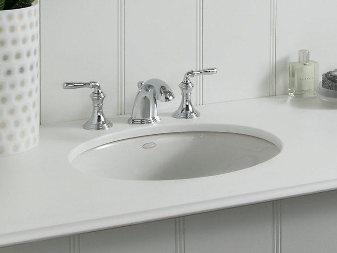 K 2205 Caxton Undermount Sink With Centered Drain Kohler