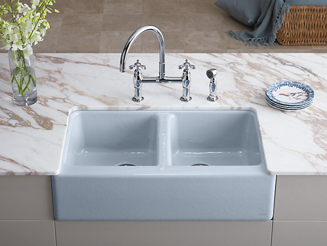 K 6534 4u Hawthorne Apron Front Under Mount Kitchen Sink