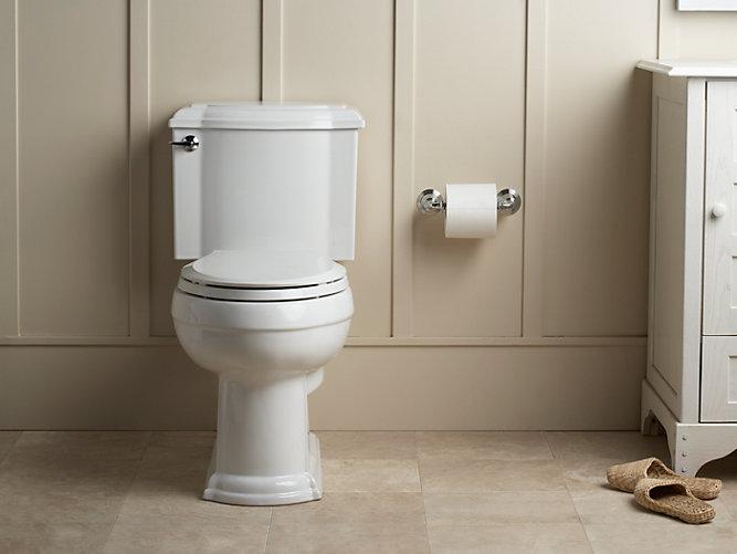 KOHLERKDevonshire TwoPiece Elongated GPF Toilet KOHLER - Kohler devonshire bathroom collection