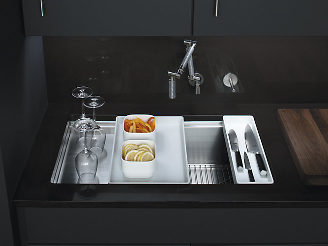 Stages 33 Inch Under Mount Kitchen Sink K 3760 Kohler