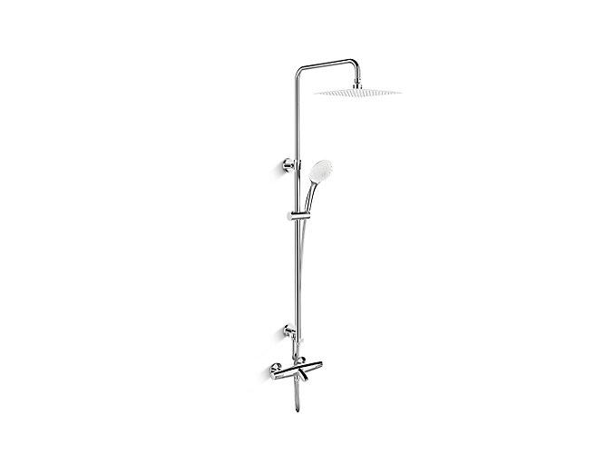 Kohler 72679m 7 Elevation Straight Bath And Shower Column