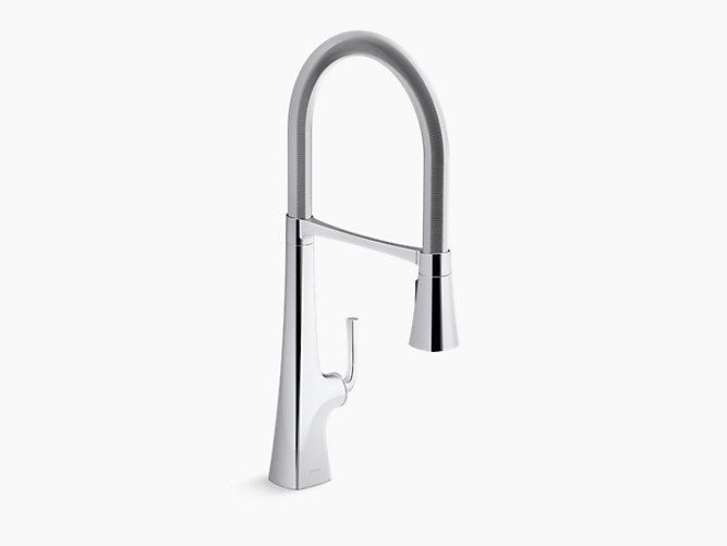 K 22060 Graze Semi Professional Kitchen Sink Faucet Kohler