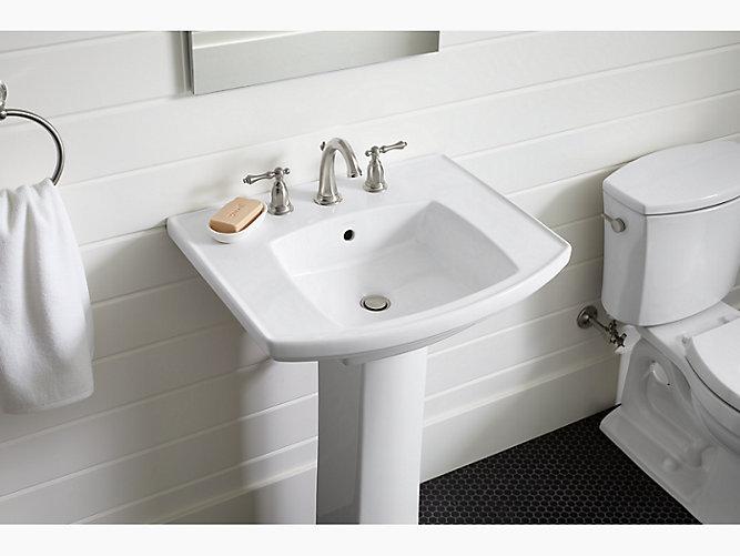 Kelston Pedestal Bathroom Sink K 24050 8 Kohler Kohler Canada