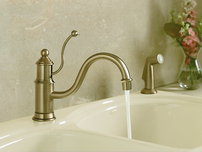 K-169 | Antique Single-Handle Kitchen Sink Faucet | KOHLER