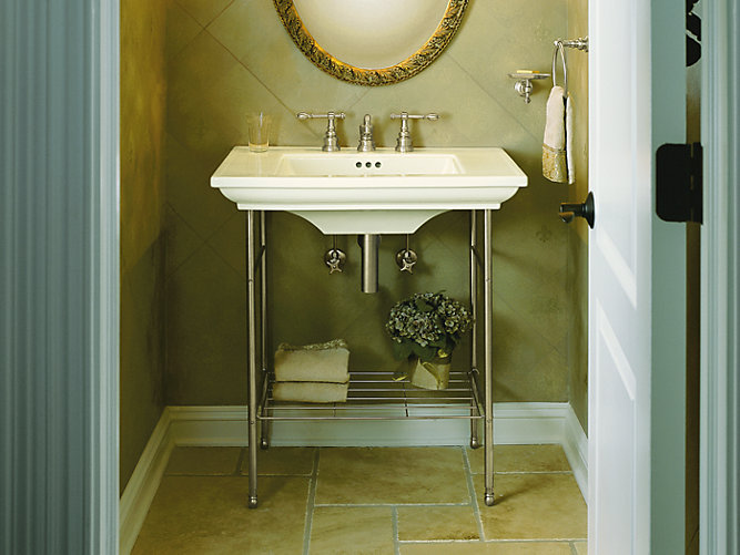 Memoirs Table Legs K 6880 Kohler Console Bathroom Sinks
