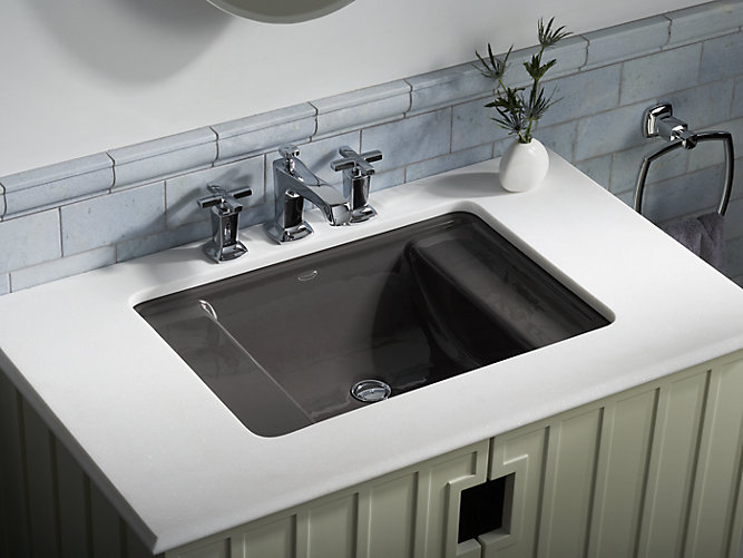 K-2838 | Ledges Undermount Cast Iron Sink | KOHLER