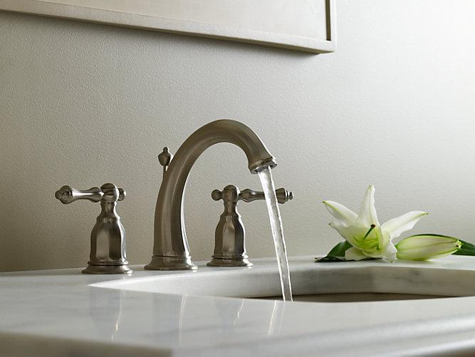 Kelston Widespread Bathroom Sink Faucet | K-13491-4 | KOHLER