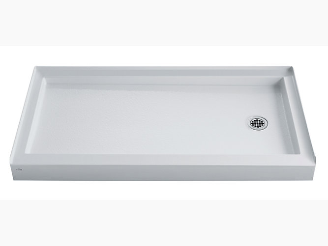 Kendale 66 Quot X 32 Quot Shower Base With Right Hand Drain