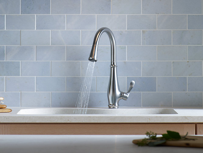 K-780 | Cruette Single-Handle Kitchen Sink Faucet | KOHLER
