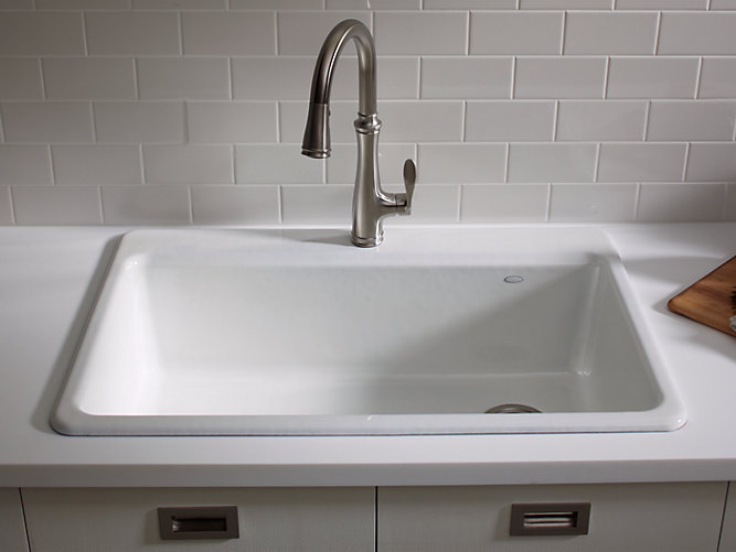 Riverby Top-Mount Kitchen Sink With