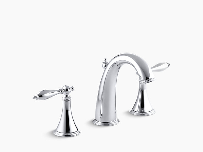 Finial Traditional Widespread Sink Faucet K 310 4m Kohler