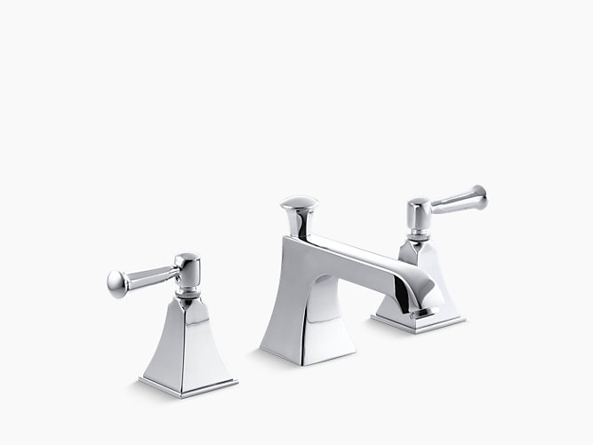 K 454 4s memoirs stately widespread sink faucet kohler - Kohler two tone bathroom faucets ...