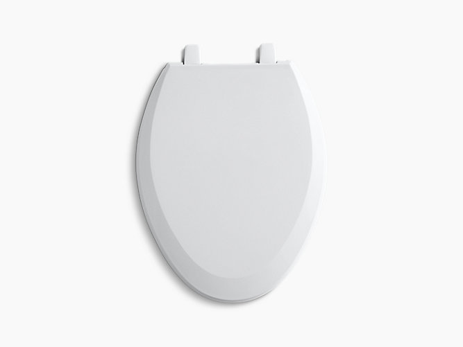 Bemis Toilet Seat Parts. KOHLER  Lustra Elongated Toilet Seat with Quick Release K 4652
