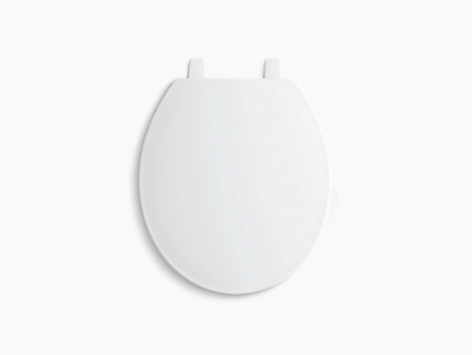 wide hinge toilet seat. KOHLER  Brevia Round Front Toilet Seat with Quick Release K 4775