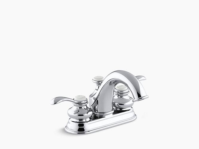 Fairfax Centerset Bathroom Sink Faucet K KOHLER - Kohler fairfax bathroom accessories