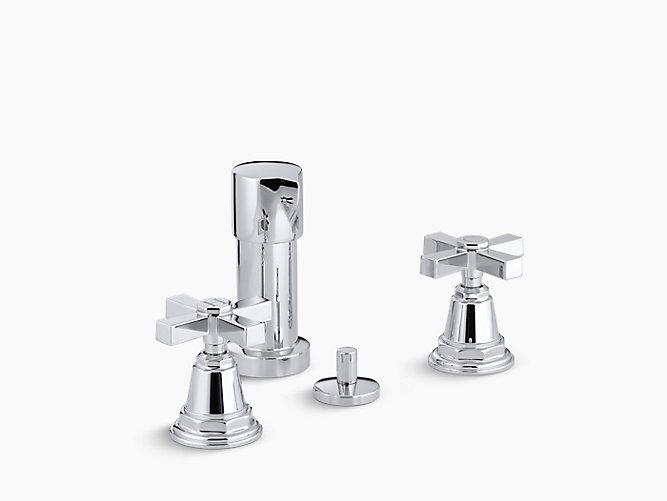 Pinstripe Pure Bidet Faucet | K-13142-3A | KOHLER